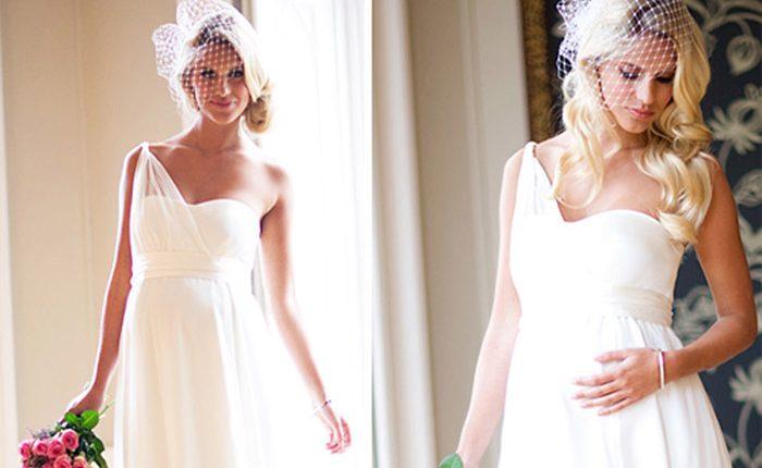Свадебный образ беременной невесты1